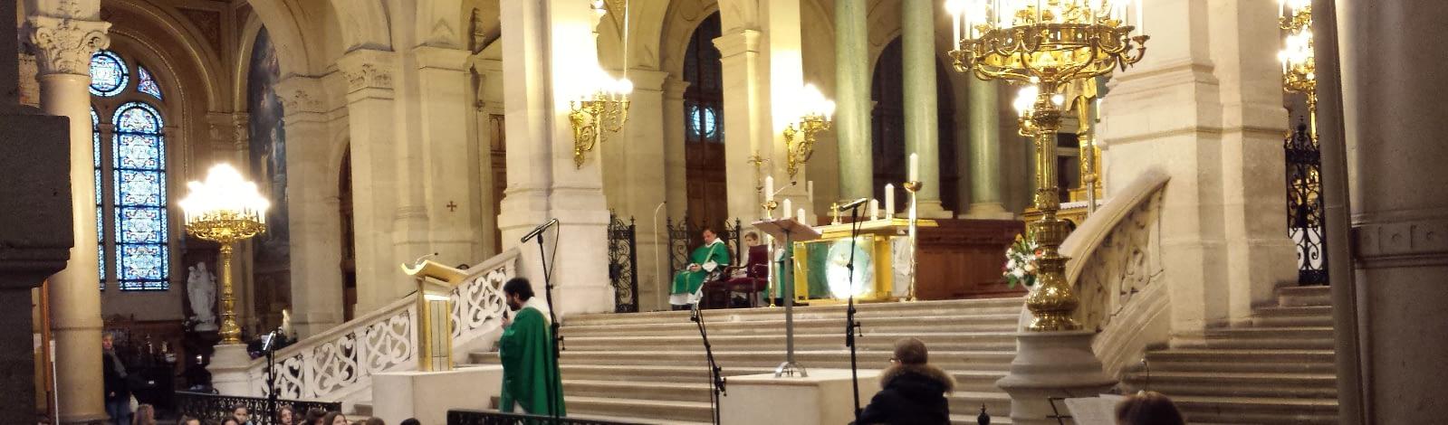 sonorisation d'une église